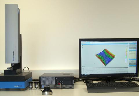 Abbildung: 3D Rauheitsmessung